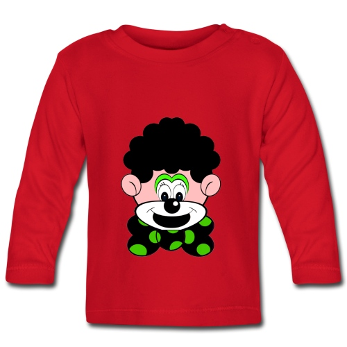 T shirt bébé clown - T-shirt manches longues Bébé