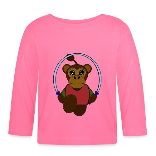T shirt bébé singe - T-shirt manches longues Bébé