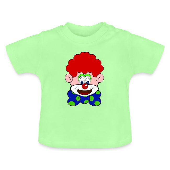 T shirt bébé clown