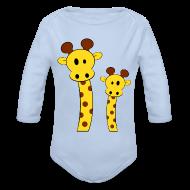 Bodys Bébés ~ Body manches longues Bébé ~ Body bébé girafes