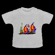Tee shirts Bébés ~ Tee shirt Bébé ~ T shirt bébé poissons