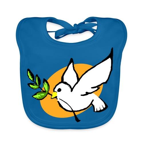 Bavoir bébé colombe - Bavoir bio Bébé