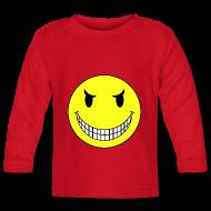 Tee shirts manches longues Bébés ~ Tee shirt manches longues Bébé ~ T shirt bébé smiley sadique
