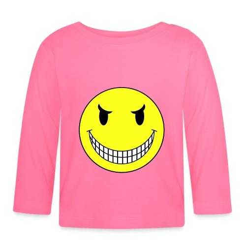 T shirt bébé smiley sadique - T-shirt manches longues Bébé