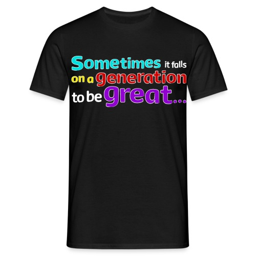Great Generation T-shirt - Men's T-Shirt