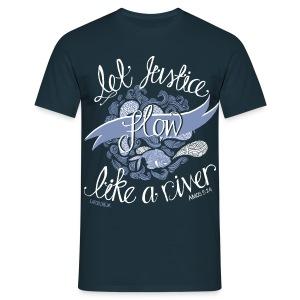 Let Justice Flow T-shirt - Men's T-Shirt