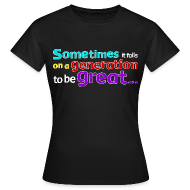 T-Shirts ~ Women's T-Shirt ~ Women's Great Generation T-Shirt