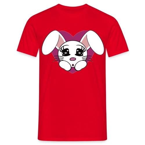 lapin amoureux - T-shirt Homme
