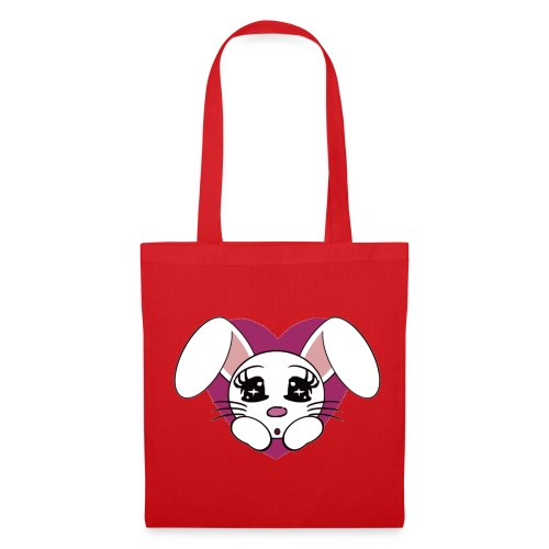 lapin amoureux - Tote Bag