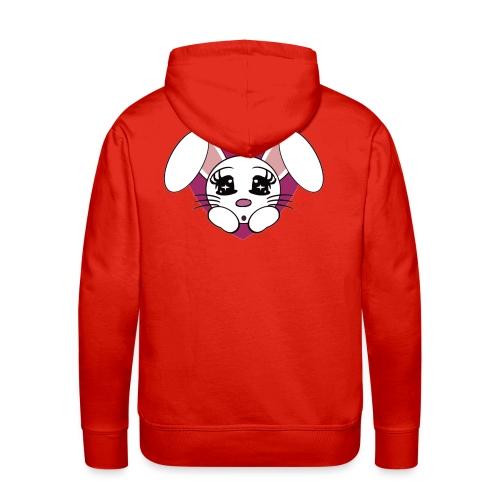 lapin amoureux - Sweat-shirt à capuche Premium pour hommes