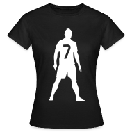 T-Shirts ~ Women's T-Shirt ~ Ronado CR7