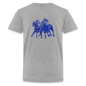 Teenager T-Shirt HORSE RACE - Teenager Premium T-Shirt