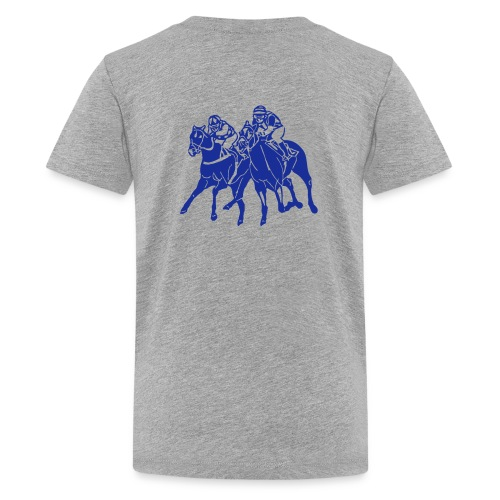 Teenager T-Shirt HORSE RACE - Teenager Premium T-Shirt