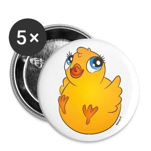 Buttons Kuikentje - Buttons groot 56 mm