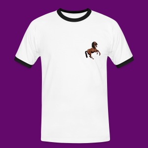 CHEVAL CABRE CRÉATION LOUIS RUNEMBERG - T-shirt contraste Homme
