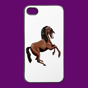CHEVAL CABRE CRÉATION LOUIS RUNEMBERG - Coque rigide iPhone 4/4s