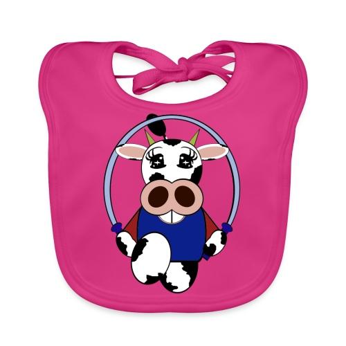 Bavoir bébé vache - Bavoir bio Bébé