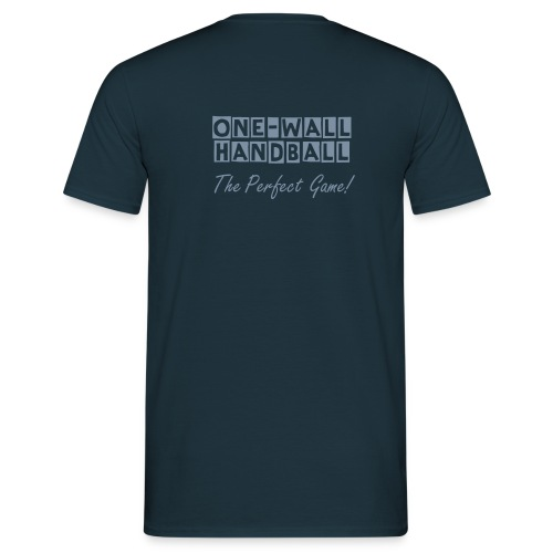One Wall Handball The Perfect Game - Urban Basic - Mannen T-shirt