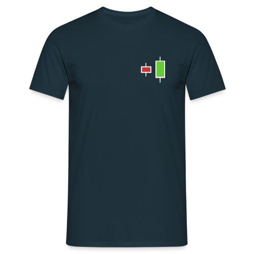 Bullish engulfing pattern - Männer T-Shirt