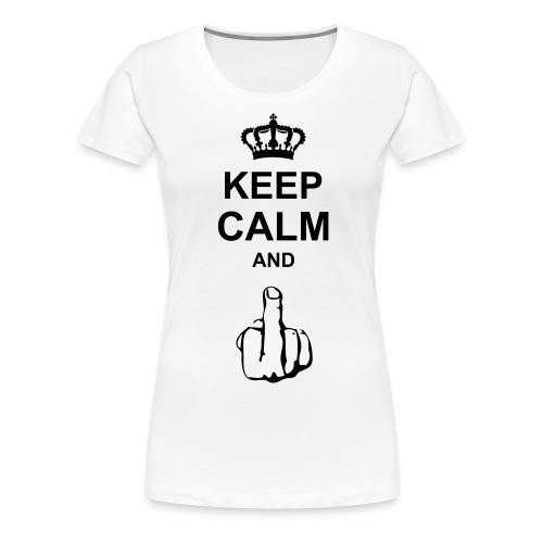 The Keep Calm And... - Women's Premium T-Shirt