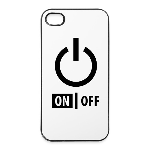 OnOff- iPhone Cover // iPhone 4/ 4S - iPhone 4/4s Hard Case