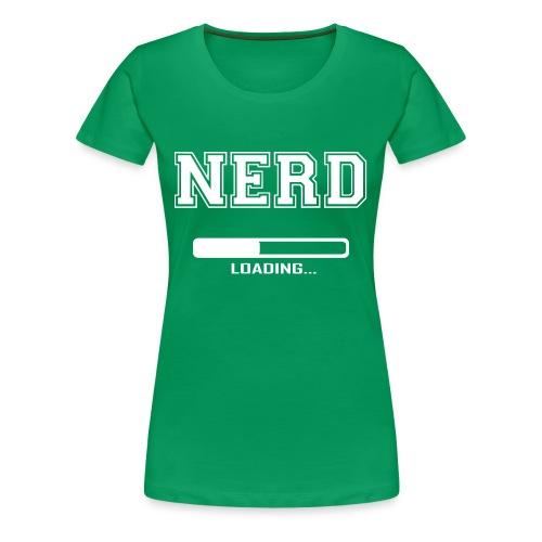 The Nerd - Women's Premium T-Shirt