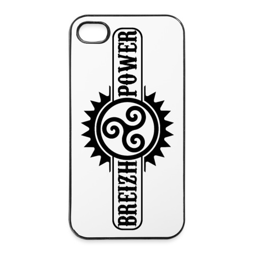 Breizh power - Coque rigide iPhone 4/4s