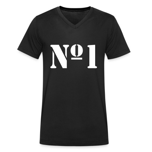 The No.1 - Men's Organic V-Neck T-Shirt by Stanley & Stella
