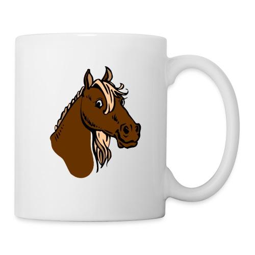 la passion du cheval - Mug blanc