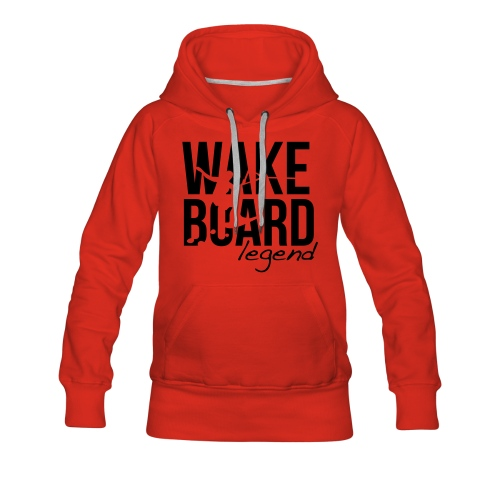 Wakeboard Legend - Frauen Premium Hoodie