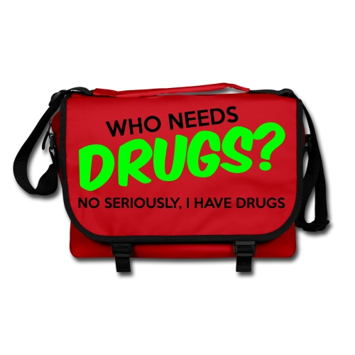 Drugs? Sarcasm Shoulder Bag - Shoulder Bag