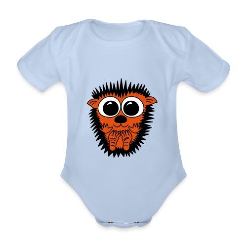 Igel - Babybody - Baby Bio-Kurzarm-Body