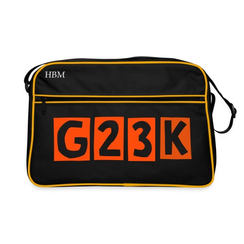 G23 - bag - Retro-tas