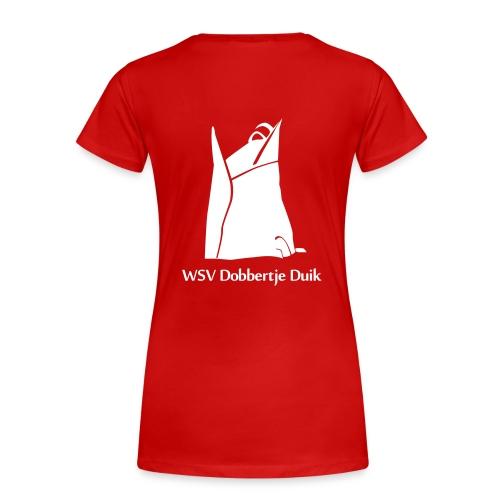 TShirt Vrouw (Wit logo) - Vrouwen Premium T-shirt