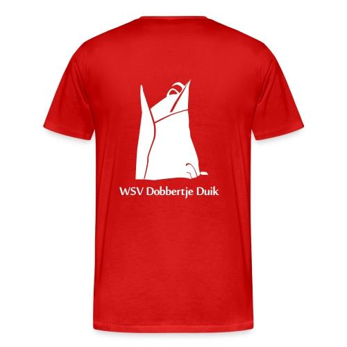 TShirt Man (Wit logo) - Mannen Premium T-shirt