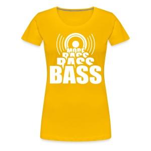 Bass. - Women's Premium T-Shirt