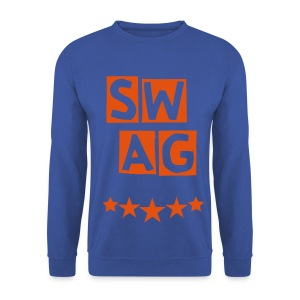 BANANA SWAG BLUE ORANGE - Men's Sweatshirt