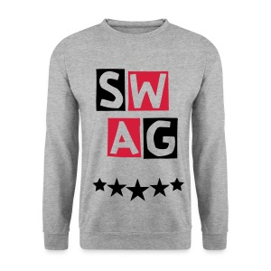 BANANA SWAG WHITE  RED BLACK EXCLUSIVE * - Men's Sweatshirt
