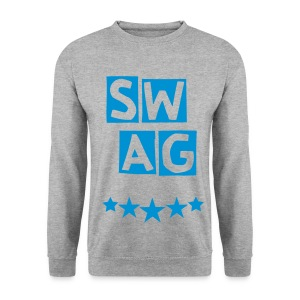 BANANA SWAG GREY BLUE MARINE - Men's Sweatshirt