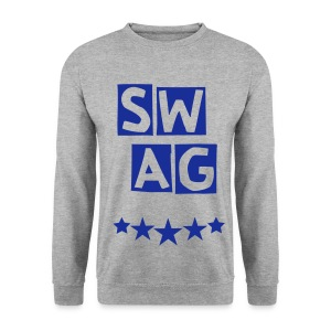 BANANA SWAG GREY BLUE   - Men's Sweatshirt