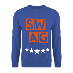 Banana Swag Blue Orange  White - Men's Sweatshirt