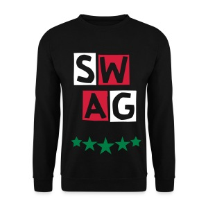 BANANA SWAG GREEN RED BLACK EXCLUSIVE * - Men's Sweatshirt