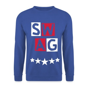 BANANA SWAG BLUE RED BLACK EXCLUSIVE * - Men's Sweatshirt