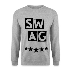 BANANA SWAG GREY BLACK - Men's Sweatshirt
