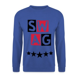 BANANA SWAG RED BLACK EXCLUSIVE * - Men's Sweatshirt