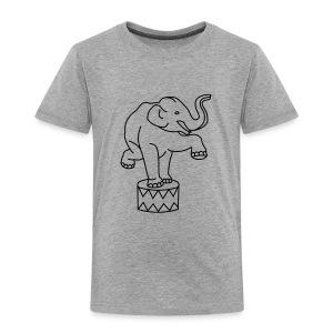 Zoo Zirkus Elefanten Circus Elephants Retro Comic