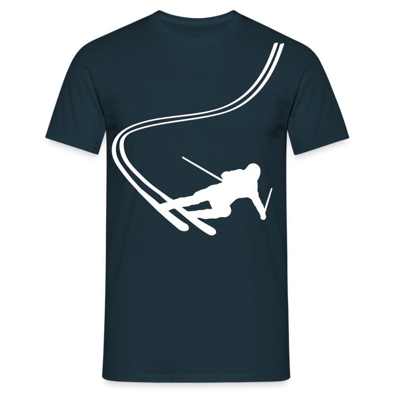 Skiing T-Shirt - Men's T-Shirt