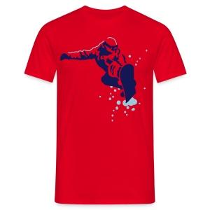 Snowboard T-Shirt - Men's T-Shirt