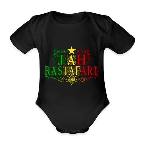 Jah Rastafari - Body bébé bio manches courtes