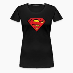 Superman S-Shield Used Look 1 Frauen T-Shirt